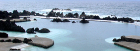 Natural Swimming Pools at Porto Moniz